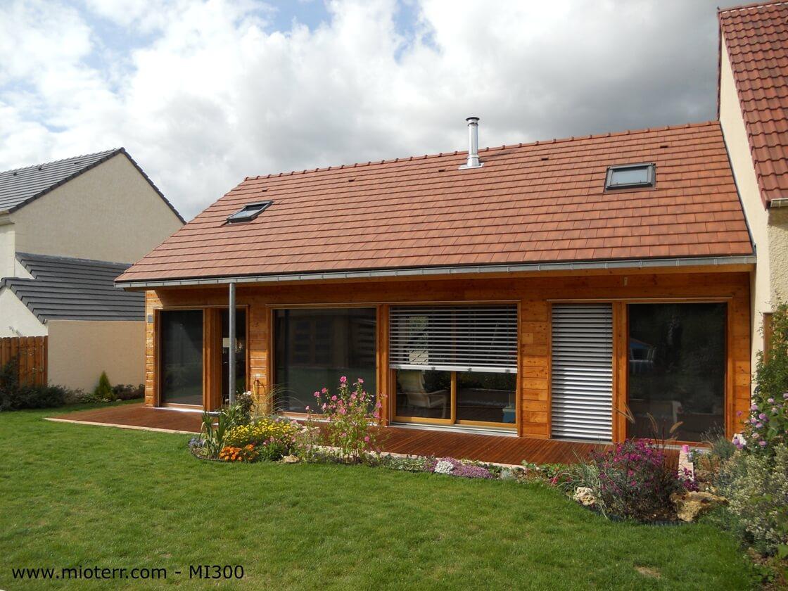 Maison ile de france elancourt modle et plan de maison moderne bbc en sa - Maison bois ile de france ...